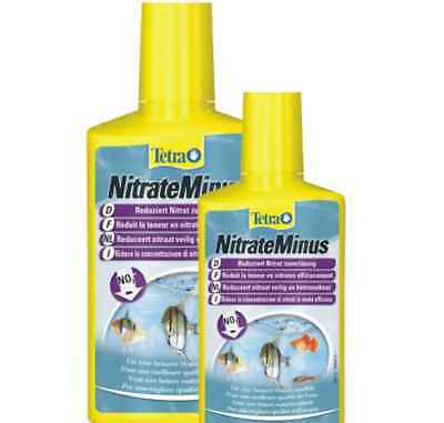 Nitrate Minus 100ml 250ml 500ml * Nitrate Remover * FRESH MARINE  TREATMENT *