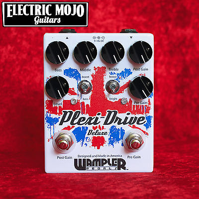 Wampler Plexi-Drive Deluxe Overdrive Boost Pedal