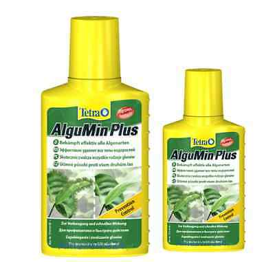 AlguMin Plus 100ml 250ml 500ml * ALGAE TREATMENT FISH TANK AQUARIUM * TETRA