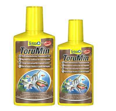 TETRA * TORUMIN 250ml 500ml * BLACK WATER * FISH * TREATMENT *NEW