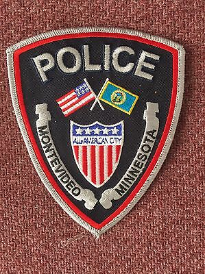 Used Montevideo Mn Police Patch