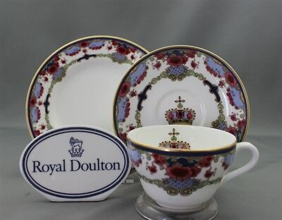 "Royal Doulton Exclusive CPR Hotels China Canadian Pacific 6 5/8"" Side Plate"