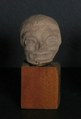 Pre-Columbian Artifact, Teotihuacan or Huastec Culture - Head Fragment - 1, Ter