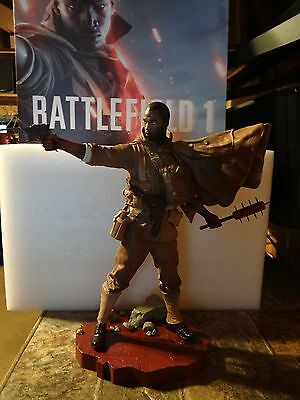 """Battlefield 1 Collector's Edition 14"""" Soldier Statue NEW"""