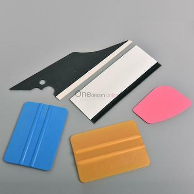 5 in 1 Car Window Film Tools Tint Squeegee Scraper Set Kit Car Home Tint OUR#