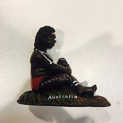 aboriginal art Mother kids resin souvenir tourist australia handmade