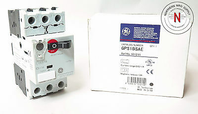 Ge Gps1Bsae Manual Motor Starter, 0.63A-1A, 690V Max, Mag Release 13A, 101215