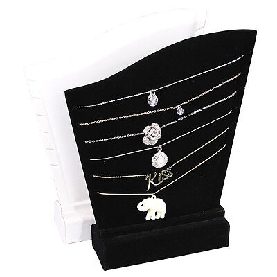 Necklace Holder Display Showcase Display Stand Jewelry Black Pendant Stand