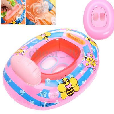 Inflatable Float Ring Baby Infant Swimming Neck Safety Aid Bath Swimming Beach