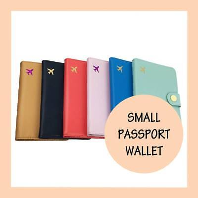 Passport Cover Travel Case Holder Wallet Protector Organiser RFID Leather Bag