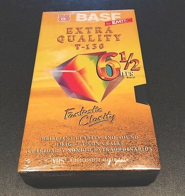BASF T-130 Extra Quality BLANK VHS Video CASSETTE TAPE SEALED By Emtec