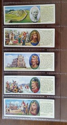 Typhoo Tea Cards - INTERESTING EVENTS IN BRITISH HISTORY - Set of 25 in sleeves