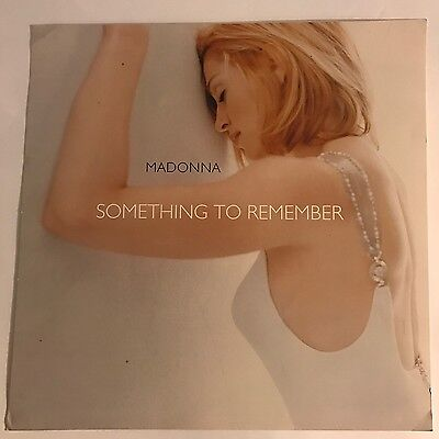 MADONNA Original 1995 SOMETHING TO REMEMBER Square Promotional Mini Poster