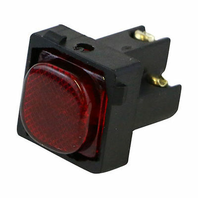 Red Neon - Fits into Mech on Wall Plate / Switch - CLIPSAL Compatible!