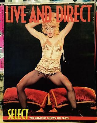 MADONNA  Magazine LIVE  & Direct Select Shows David Bowie Prince Blonde Ambition