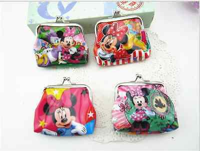 1PC Frozen/ Minnie/ Peppa Pig/ Princess COIN PURSE BIRTHDAY PARTY LOLLY BAG