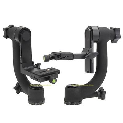 Movo GH700 Pro Panoramic Gimbal Pan Tripod Head for Telephoto Lens DSLR Camera