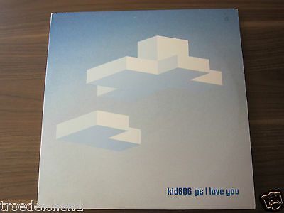 """M5) 2 LP 12"""": KID606 ps I LOVE YOU"""