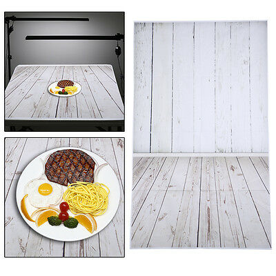 3x5ft White Wood Wall Floor Photography Backdrop Studio Photo Background Wall