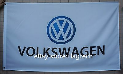 NEW Volkswagen flag 3X5 Ft Volkswagen Racing car flags VW banner -free shipping