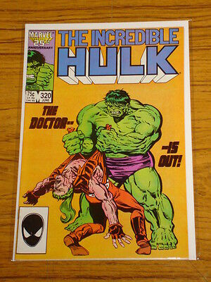 Incredible Hulk #320 Vol1 Marvel Comics Doc Samson June 1986