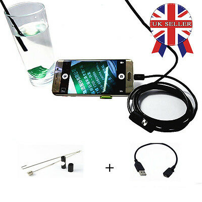 5.5MM 6 LED Android Endoscope Borescope Waterproof Inspection Video Camera