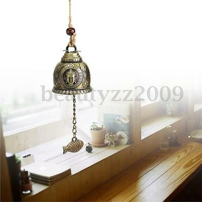 Chinese Bells Lucky Feng Shui Hanging Wind Chimes Yard Garden Outdoor Decor 2016