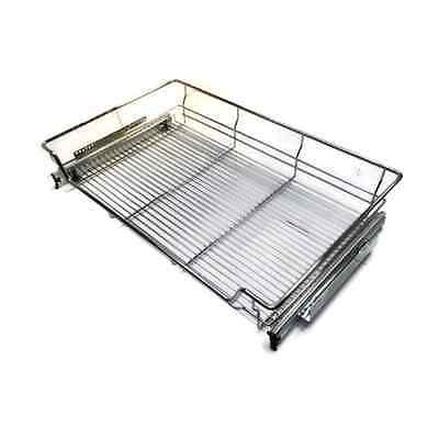 Munchen Pull Out High Grade Stainless Steel Chrome Finished Basket On Full Exten