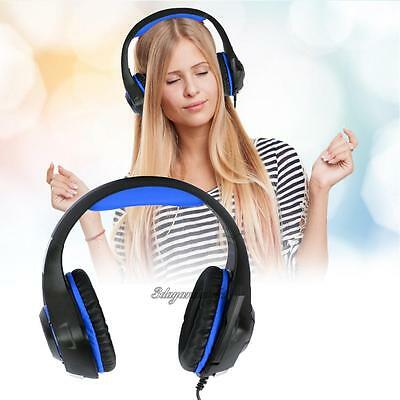 GM-1 Gaming Headset with Mic LED Light Earphone for Sony PS4 Microsoft Xbox One