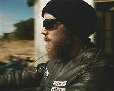 SONS OF ANARCHY OPIE Ryan Hurst Signed  Autograph 20x25cm