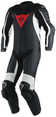 Motorcycle Motorbike Armour Protection Racing 1&2 Pieces Leather Suits