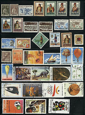 St. Thomas & Prince Islands - 37 mixed - years 1899 - 1990