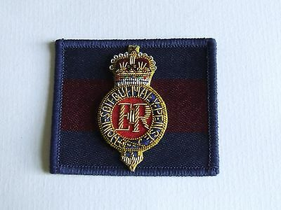 British Army Household Cavalry Blues & Royals Officers Beret Badge & Backing