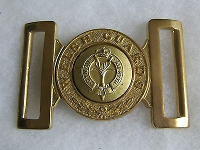 British Army Household Division Welsh Guards Ceremonial Dress Brass Buckle
