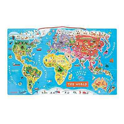 Janod Magnetic World Map