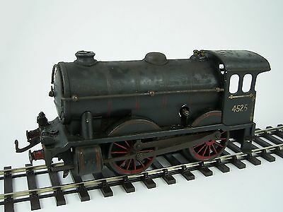 Hornby 0 Gauge Clockwork No.1 Special 0-4-0 Loco (No Tender) LMS Black No.4525