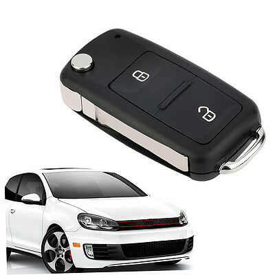 2 Button Remote Key FOB Shell Case Fits for VW Transporter/T5/Polo/GOLF F5