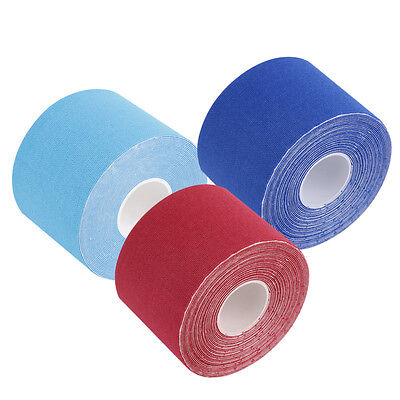 5M*5cm Kinesiology Elastic Tape Roll Sports Muscle Strain Injury Support HC