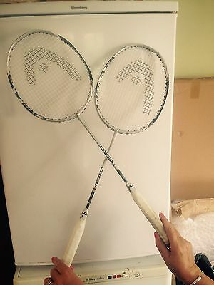 2x head Badminton Rackets With Cases
