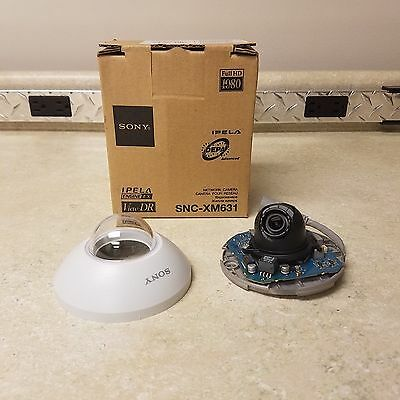 Sony SNC-XM631 Dome Camera