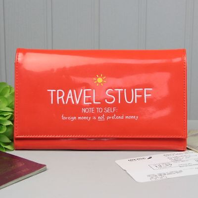Happy Jackson 'Travel Stuff' Travel Wallet
