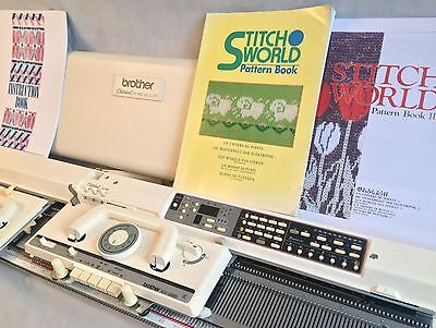 Brother electronic knitting machine package KH 965 + KR 850 ribber + KRC 900