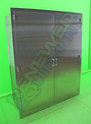 Continental Stainless Steel Recessed Storage Cabinet with Double Doors #4