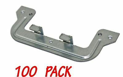 100 x C Clip for powerpoint and switch plaster bracket mounting wall plates