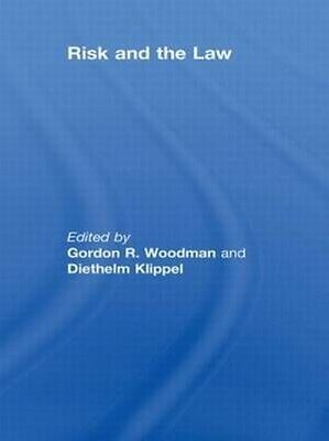 Risk and the Law by Gordon Woodman Hardcover Book (English)