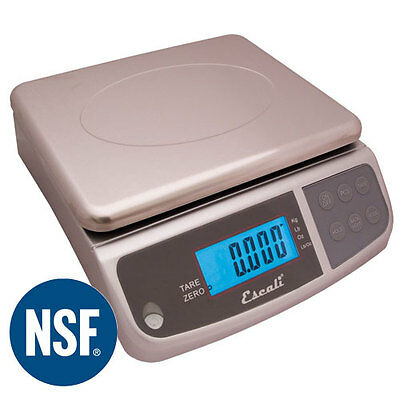 66 LB X 0.2 OZ (30 KG) Escali M Series Digital Kitchen Food Scale NEW !!