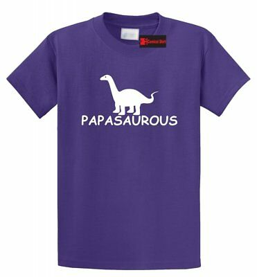 Papasaurous T Shirt Funny Dad Gift Fathers Day Father Dinosaur Humor Tee