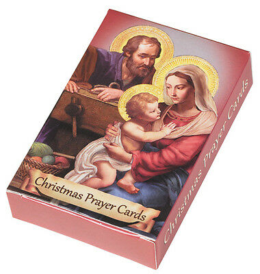 Rare CHRISTMAS PRAYER HOLY CARDs DECK Lot Boxed 9 Styles 54 cards total