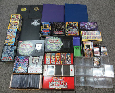 Lot of 35 Pokemon Empty Storage Boxes Cases & Binders w/ 120 Used Top Loaders