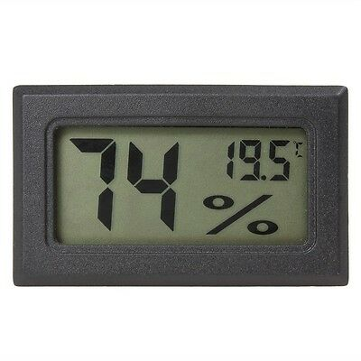 Mini LCD Digital Indoor Temp (FAHRENHEIT) Humidity Gauge Thermometer Hygrometer